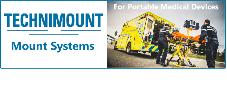 Technimount bracket mounting systems for portable medical devices | Technimount bracket mounting systems