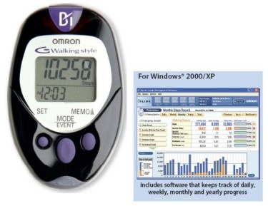 HJ720ITC - Pedometer with Software