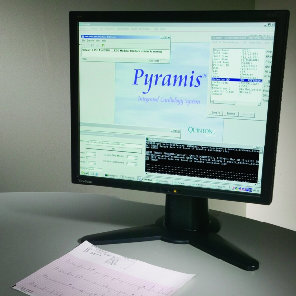 Pyramis ECG Data Management Software