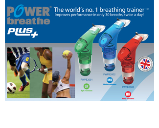 POWERBreathe Plus Series