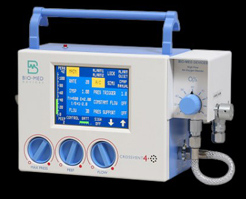 Crossvent 4+ transport ventilators, neonatal to adult