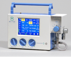Crossvent 2+ transport ventilators, neonatal to pediatric