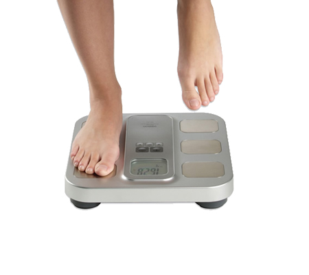 HBF400 Omron Fat loss monitor with scale