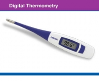 MC206  -  10 second Flexible Digital Thermometer