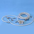 CV2005ICH - Blender Hose Kit IC-2A w/bracket to pole for blender/hoses