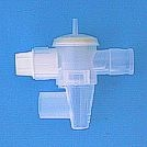 CV2018C - Exhalation Valve, 22mm OD, with Drip Cap