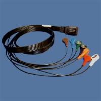 BU010-1643-00 - 7-lead Patient Cable for Burdick 5L holter recorder