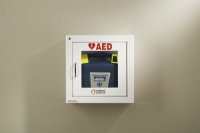 CS50-00392-20 - Wall mount storage case with alarm and security for Powerheart AED G3