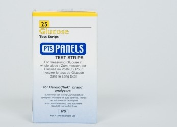 PTS1713 Glucose Test Strips 25 strips/vial