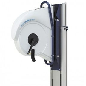 Angio with adjustable electric wall mount