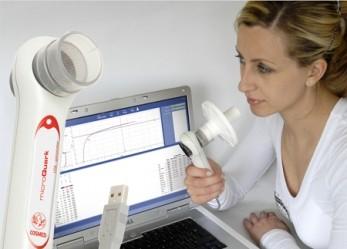 COSMED MicroQuark PC-based Spirometer