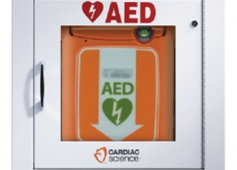 Wall cabinet for Powerheart G5 AED