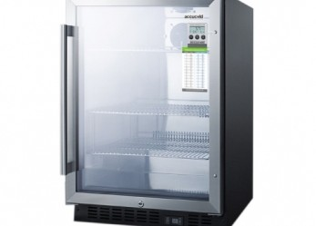 5.0 cu. ft (under-counter) Refrigerator with Glass Door