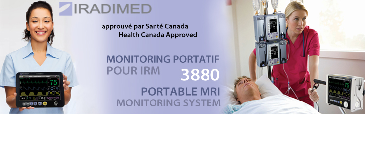 Portable MRI Monitoring System 3880 | Portable MRI Monitoring System 3880