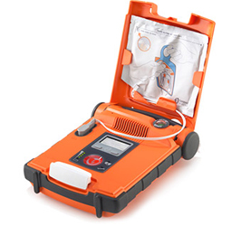Powerheart G5 External Defibrillator - First Bilingual Semi-Automatic AED (French/English)