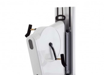 LODE Angio CPET with electrical adjustable wall fixation
